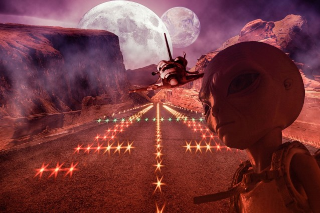 marte alieni