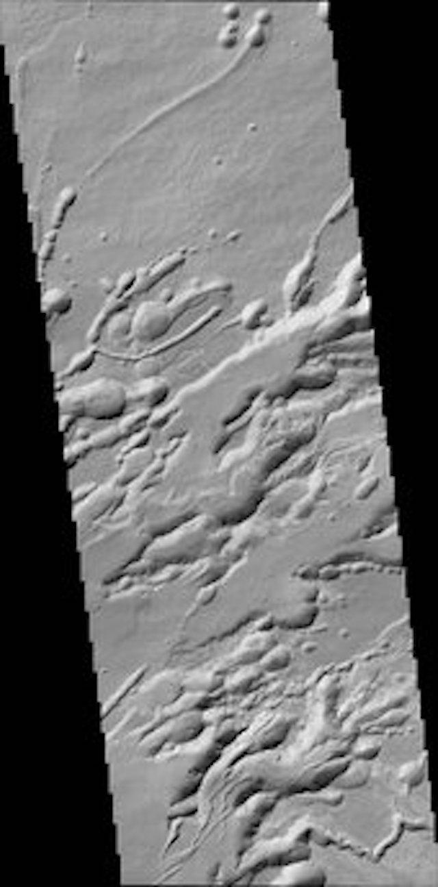 Arsia Chasmata, struttura geologica di Marte