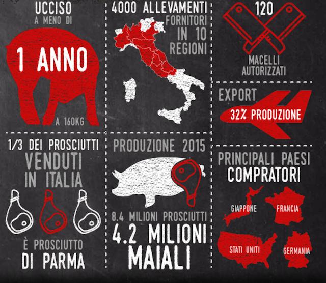 La situazione degli allevamenti e del prosciutto in Italia