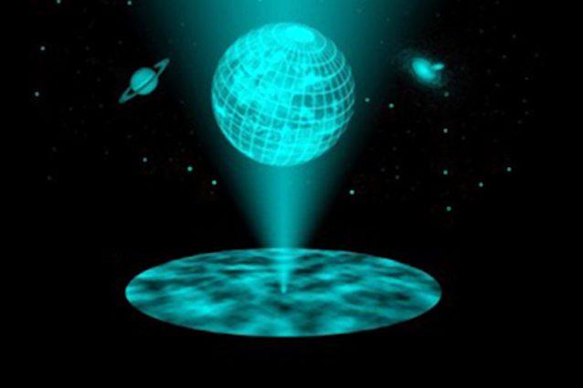 L'universo è un grande ologramma? La scoperta degli scienziati italiani