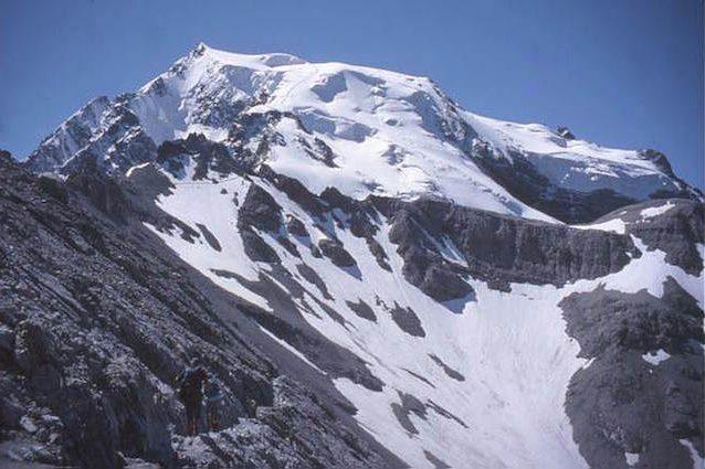 Il ghiacciaio Ortles (in Italia) sta 'scivolando' dopo 7.000 anni e ha tracce radioattive