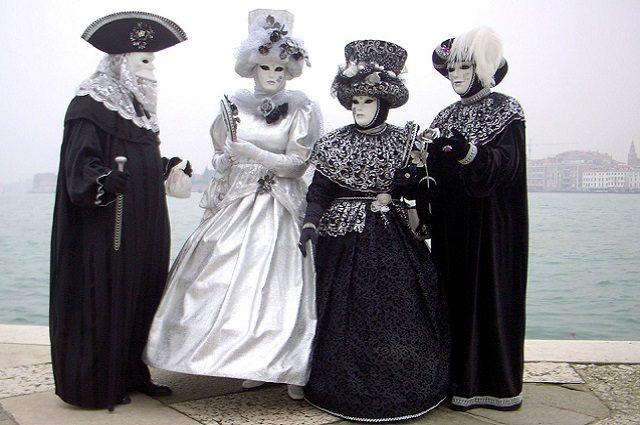 Tipiche maschere di venezia