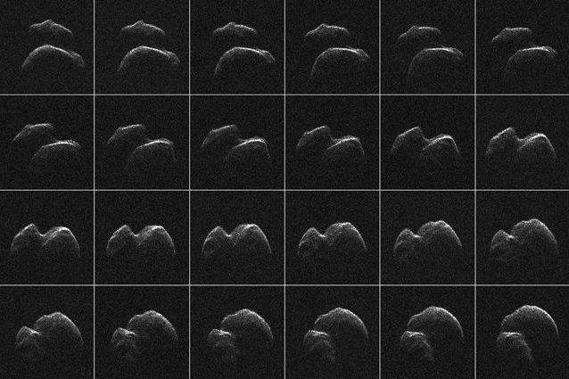Le immagini dell'asteroide che sta sfiorando la Terra in queste ore