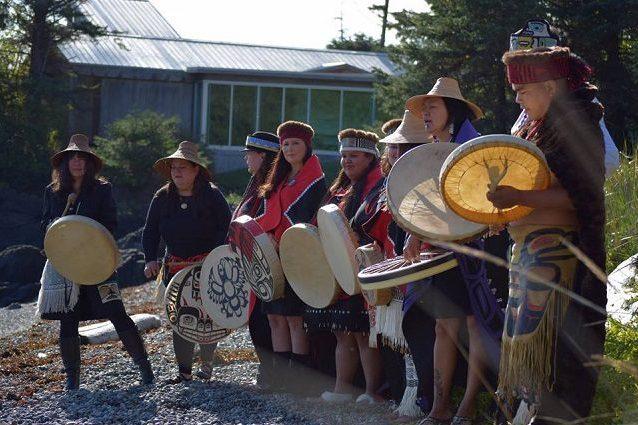 Popolo Haida originario dell'Alaska