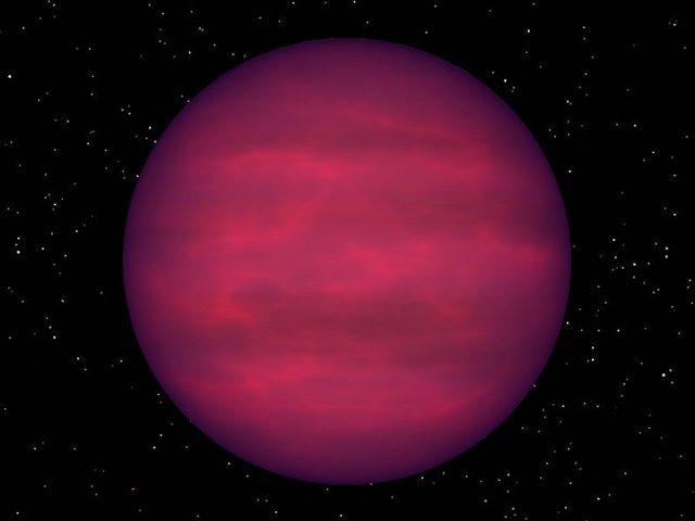 Illustrazione di una nana bruna: credit NASA