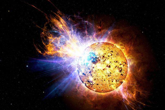 Illustrazione di EV Lacertae – NASA