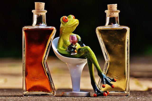 Colm con alcool che togliere la reazione