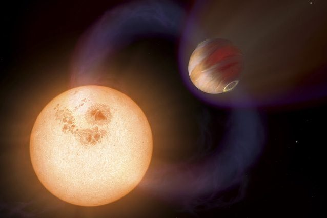 Scoperto un nuovo 'gioviano caldo', un esopianeta otto volte più massiccio di Giove