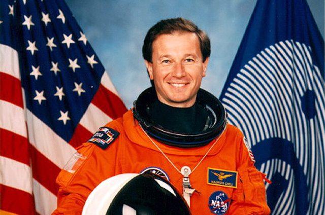 Maurizio Cheli: credit NASA