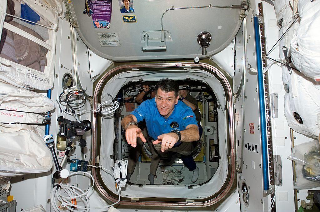 Paolo Nespoli a bordo della ISS: Foto di NASA