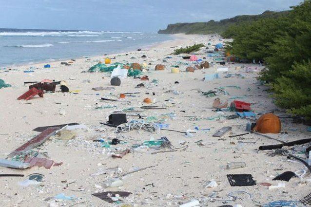 Sulla piccola isola di Henderson c'è la più alta densità di rifiuti plastici del Pianeta