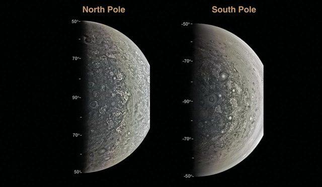 Il tempo di Giove diventa arte in queste stupende foto di Juno