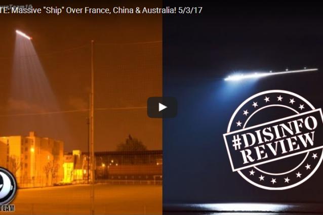 Ufo nei cieli di Parigi? Nessuno ha visto niente, infatti è un vecchio fake cinese