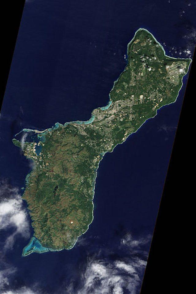 Guam vista dall'alto – Foto da Wikipedia