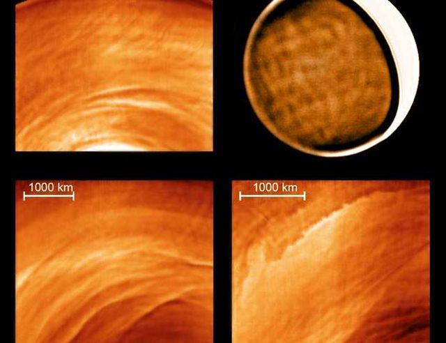 Venere di notte: caotica e turbolenta, la misteriosa atmosfera del pianeta