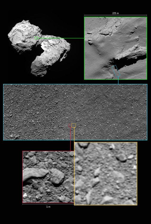 Rosetta, la sonda ci regala l'ultimo scatto segreto prima di schiantarsi sulla cometa