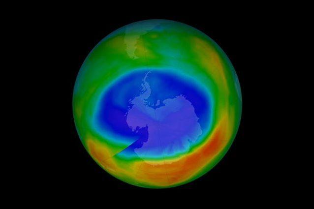 Il buco dell'ozono favorisce i cambiamenti climatici e alter