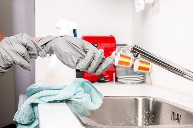 Attenzione agli strofinacci da cucina, sono pieni di batteri