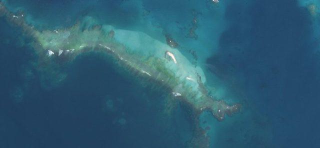 L'isola dopo il passaggio di Walaka Credit: U.S. Fish and Wildlife Service