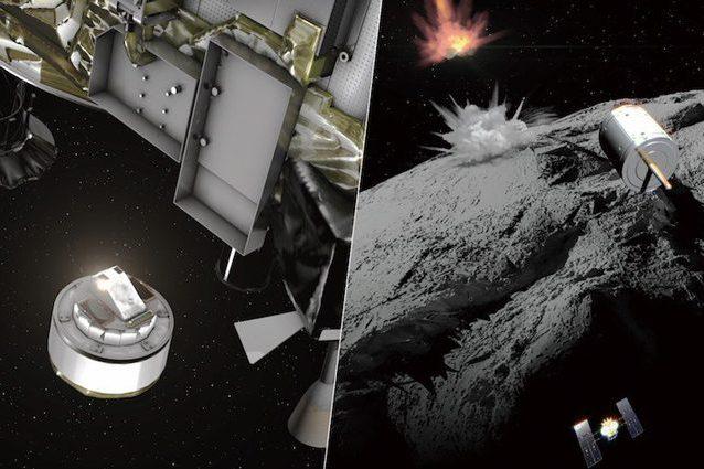 Hayabusa 2 nello Spazio per catturare le polveri dell'asteroide Ryugu