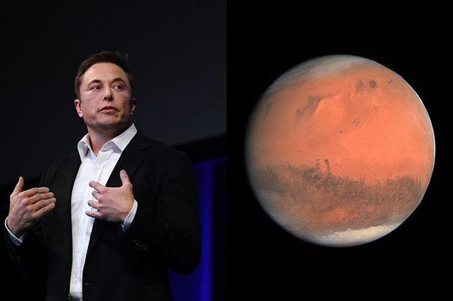 Elon Musk vuole lanciare bombe nucleari su Marte per renderl