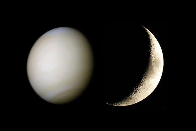La falce di Luna e Venere danzano nel cielo: quando vedere l