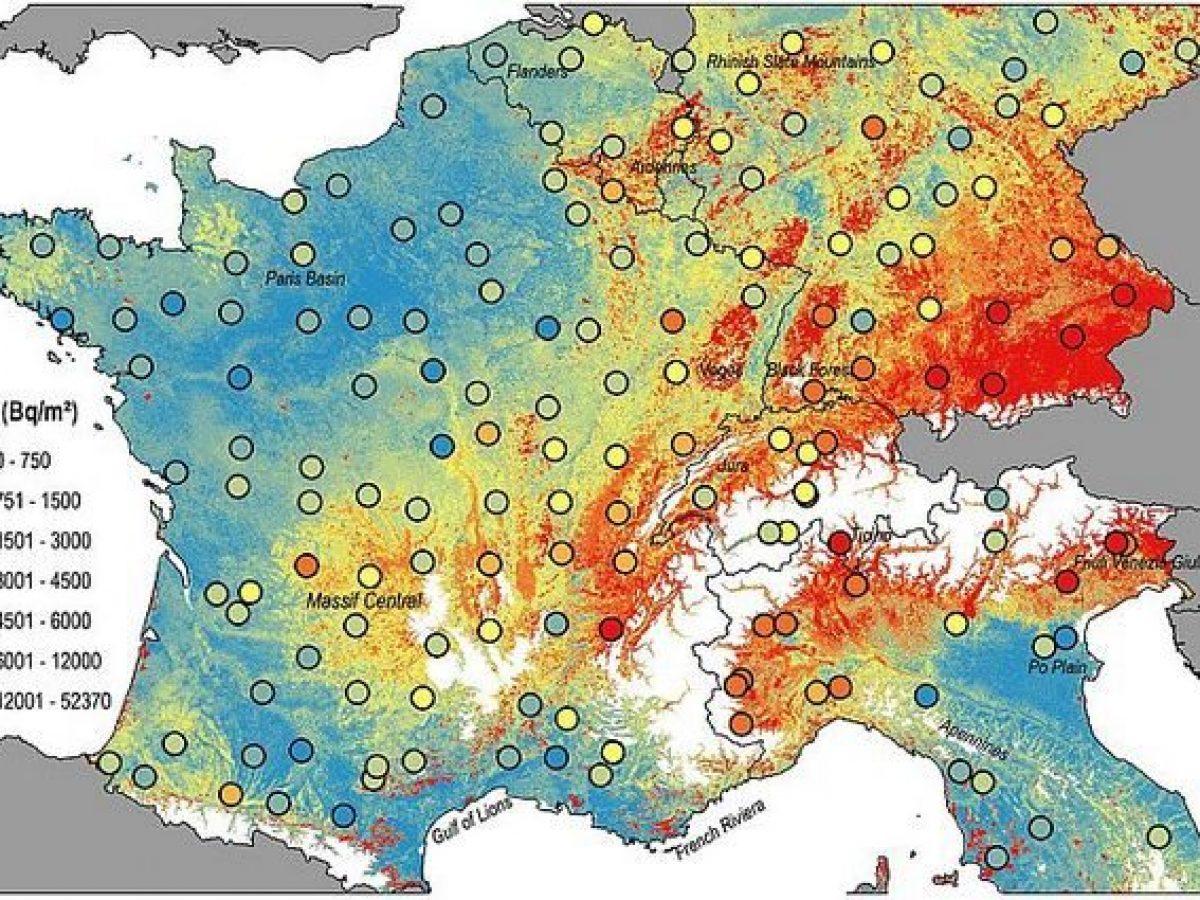 Cartina 1500.Nuova Mappa Della Radioattivita In Europa Gli Effetti Del Disastro Di Chernobyl E Dei Test Nucleari