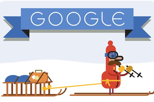 Buone feste da google ecco il secondo doodle di natale for Secondo di natale