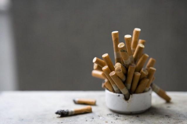 sigarette mozziconi pacchetto