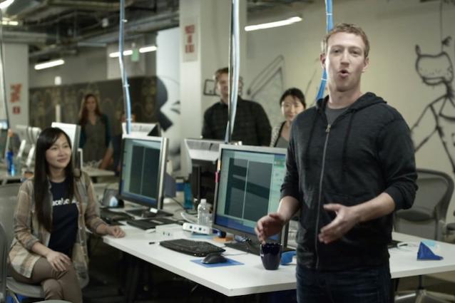 Facebook uffici stage