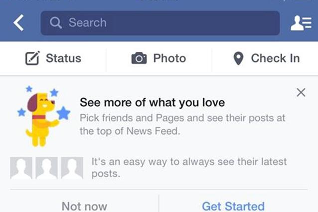 Facebook, una nuova funzionalità permetterà di personalizzare il News Feed