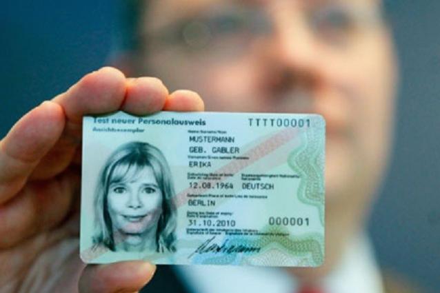 carte identità bruciate