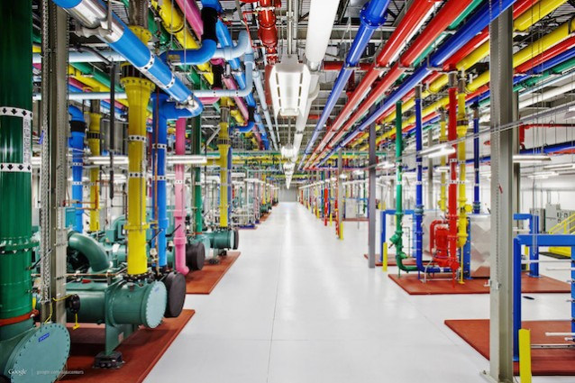 google data center server