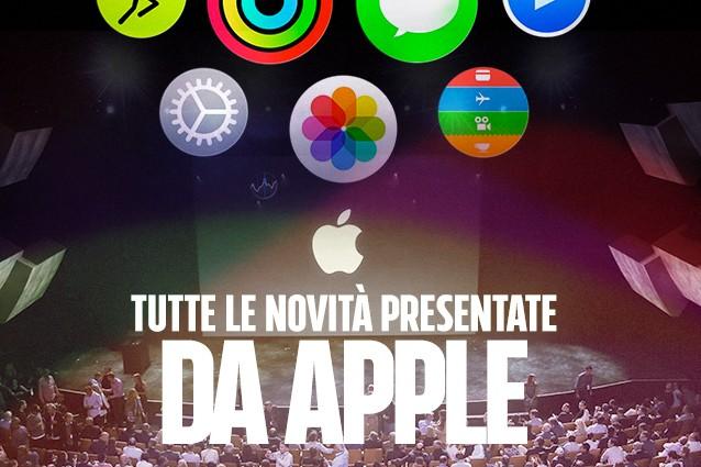 iPhone 6S, iPhone 6S Plus, iPad Pro e Apple TV: tutte le novità presentate da Apple