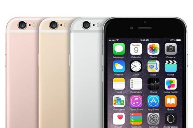 iphone 6s pink gold