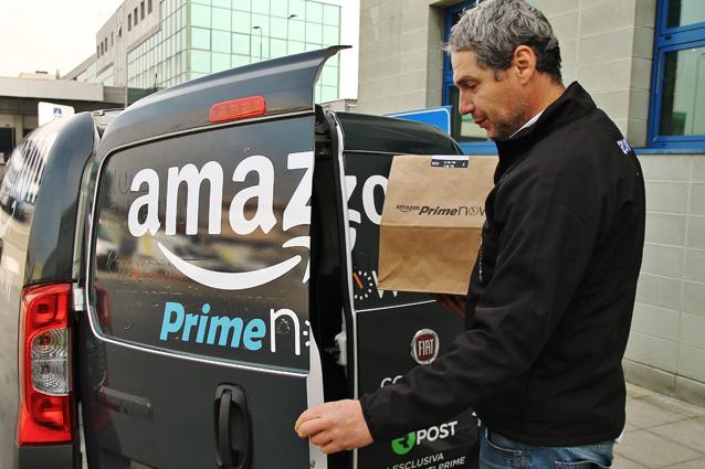 Amazon consegna il pesce fresco a casa