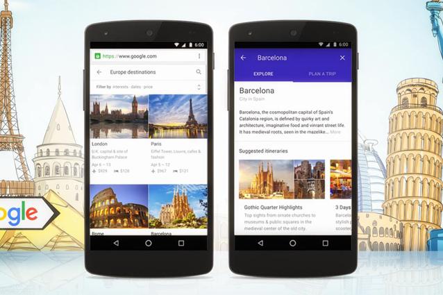 Google Destinations, il nuovo servizio per pianificare viaggi e vacanze