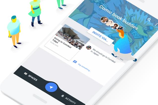 Google Spaces, chiude l'app per le conversazioni di gruppo