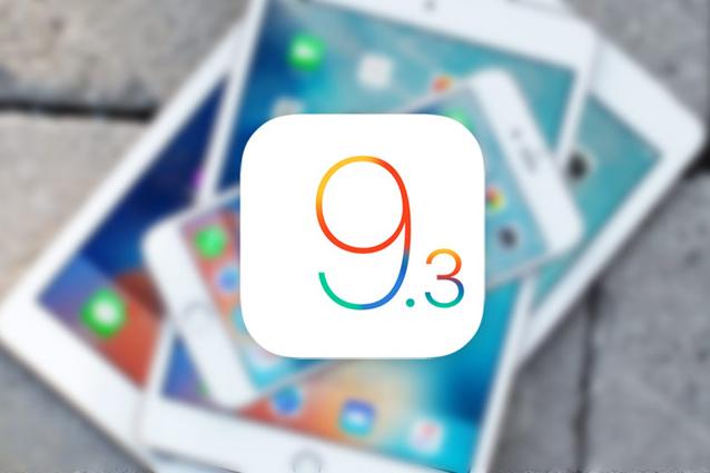 iOS 9.3.2 disponibile per il download gratuito: tutte le novità