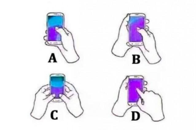 Tieni il cellulare in questo modo? Ecco cosa dice sulla tua personalità