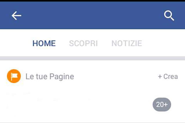 Come creare una pagina Facebook su Android