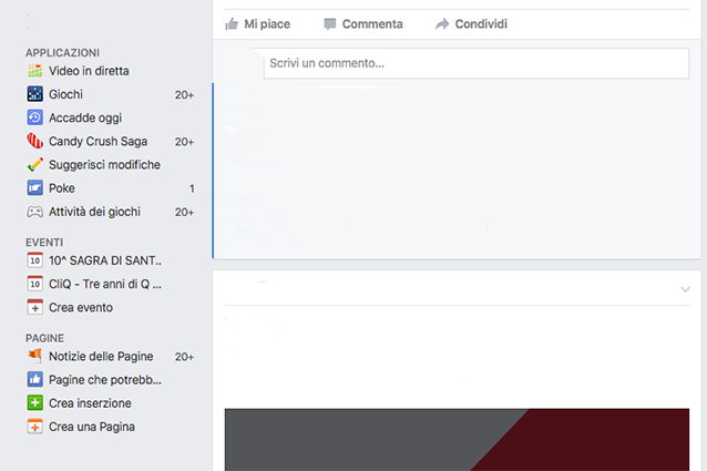 Come creare una pagina su Facebook dal diario
