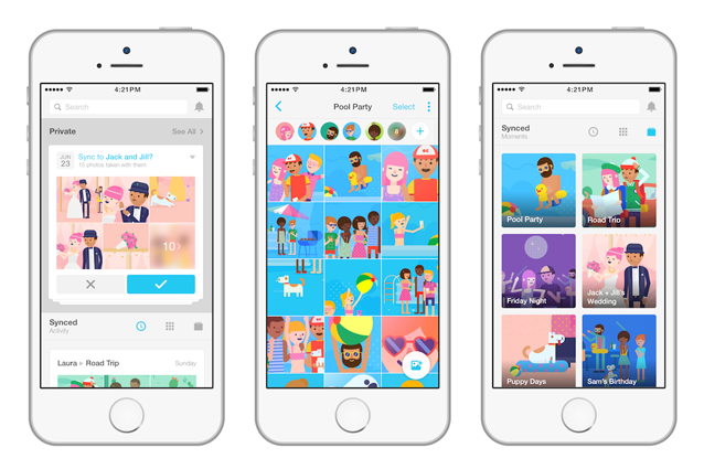 Facebook invita gli utenti ad installare Moments per la sincronizzazione delle foto