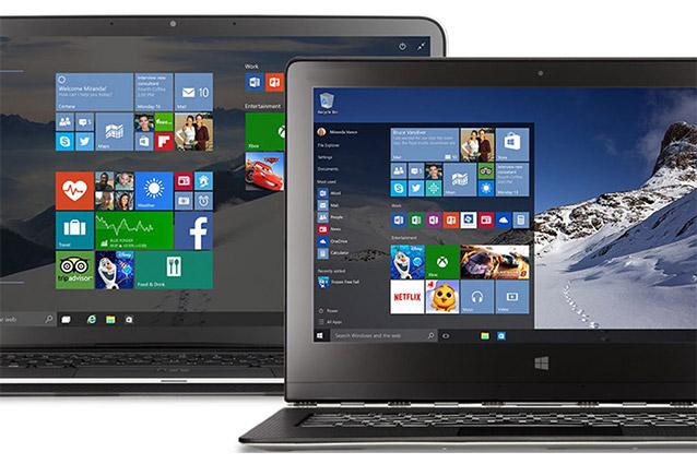 Microsoft, stop alla produzione di PC con Windows 7 e 8.1