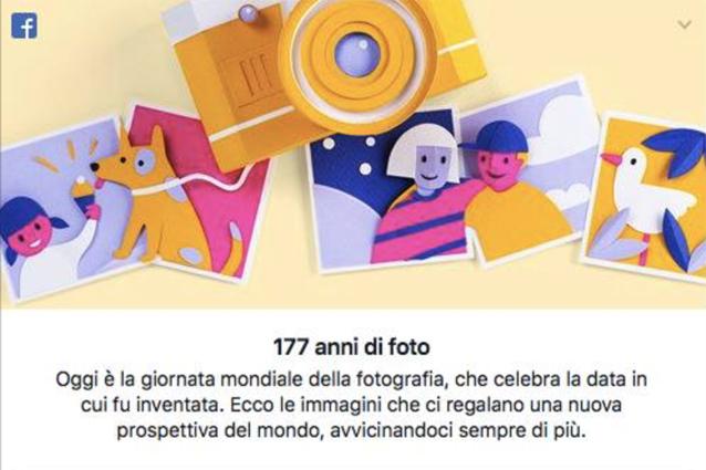 Facebook celebra la Giornata mondiale della fotografia