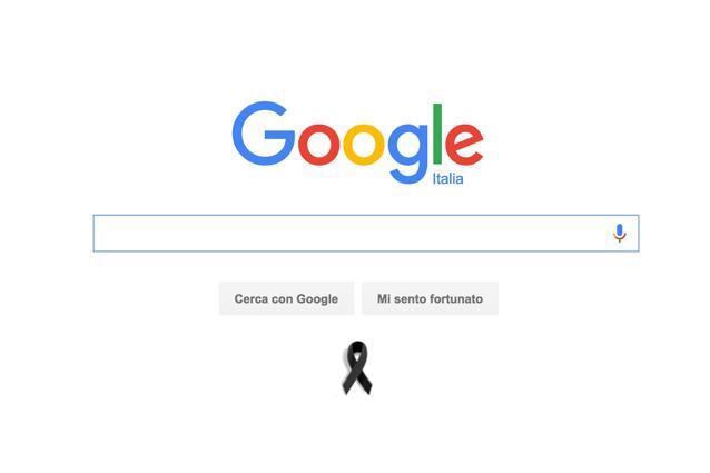 Terremoto centro Italia, Google e YouTube a lutto per le vittime del sisma
