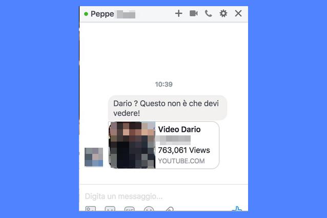 """""""Ti ho visto in questo video"""", attenzione al virus nella chat di Facebook"""