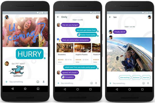 Google Allo, la nuova app di messaggistica che sfida WhatsApp e Messenger