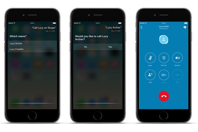 Skype per iPhone e iPad si aggiorna: tra le novità le chiamate tramite Siri