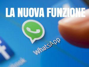 WhatsApp introduce la possibilità di citare un utente nei gruppi: ecco come funziona